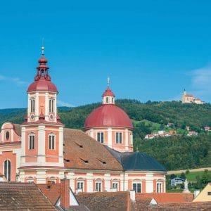 Ansicht der Kirchen, © Helmut Schweighofer