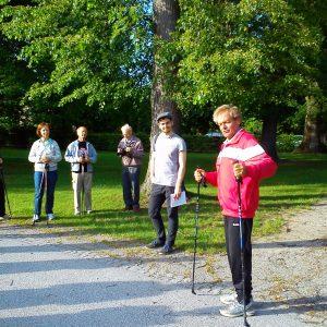 Nordic Walken mit Prof. Werner Riedl
