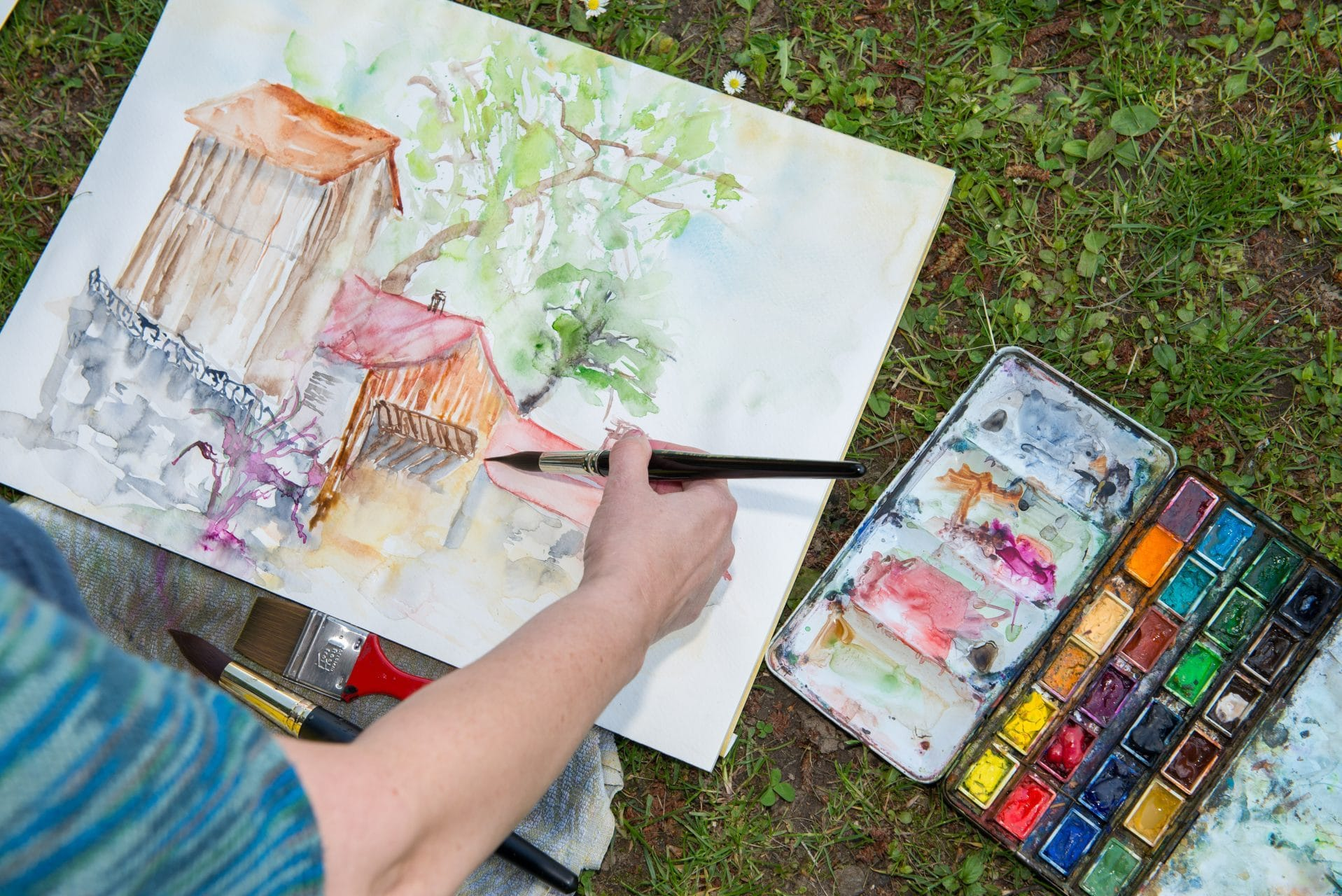 Styrian Summer Art Kunstpicknick ©Helmut Schweighofer