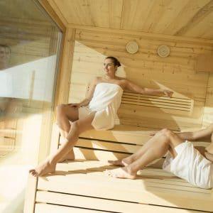 **** Hotel Waldhof Muhr, Sauna ©Schotter