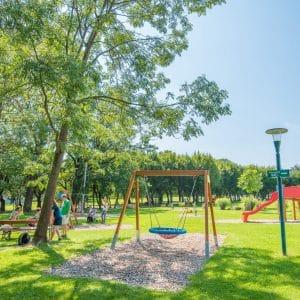 Schlosspark Pöllau, Spielplatz