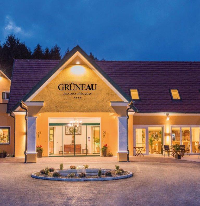 """**** Hotel Restaurant """"Grüne Au"""", Aussenansicht"""