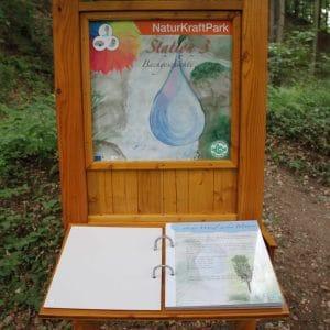 Naturkraftpark, Station Bachgeschichte