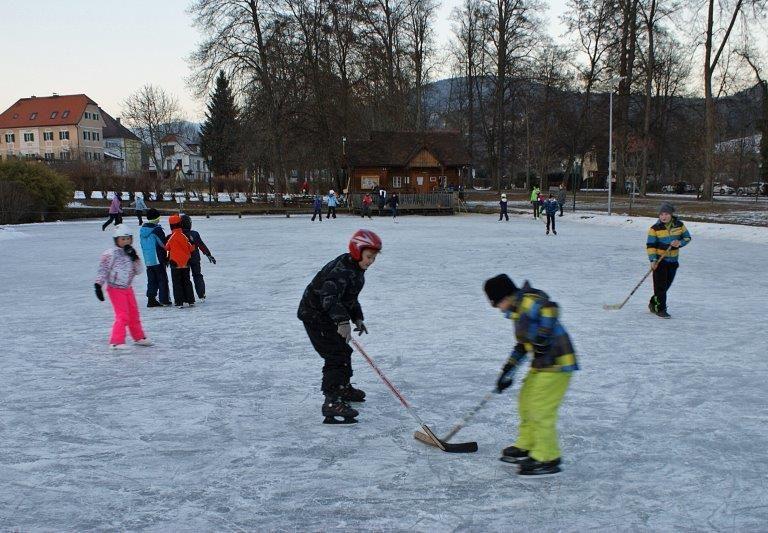 Eislaufen ©Marktgemeinde Pöllau