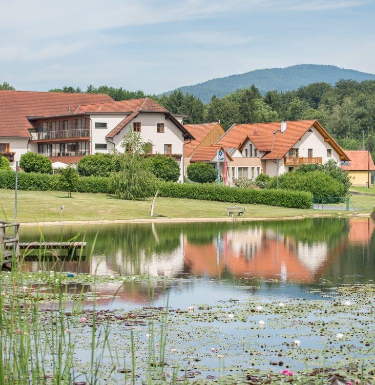 Naturbadeteich_Hotel-Restaurant Gruber ©Gruber