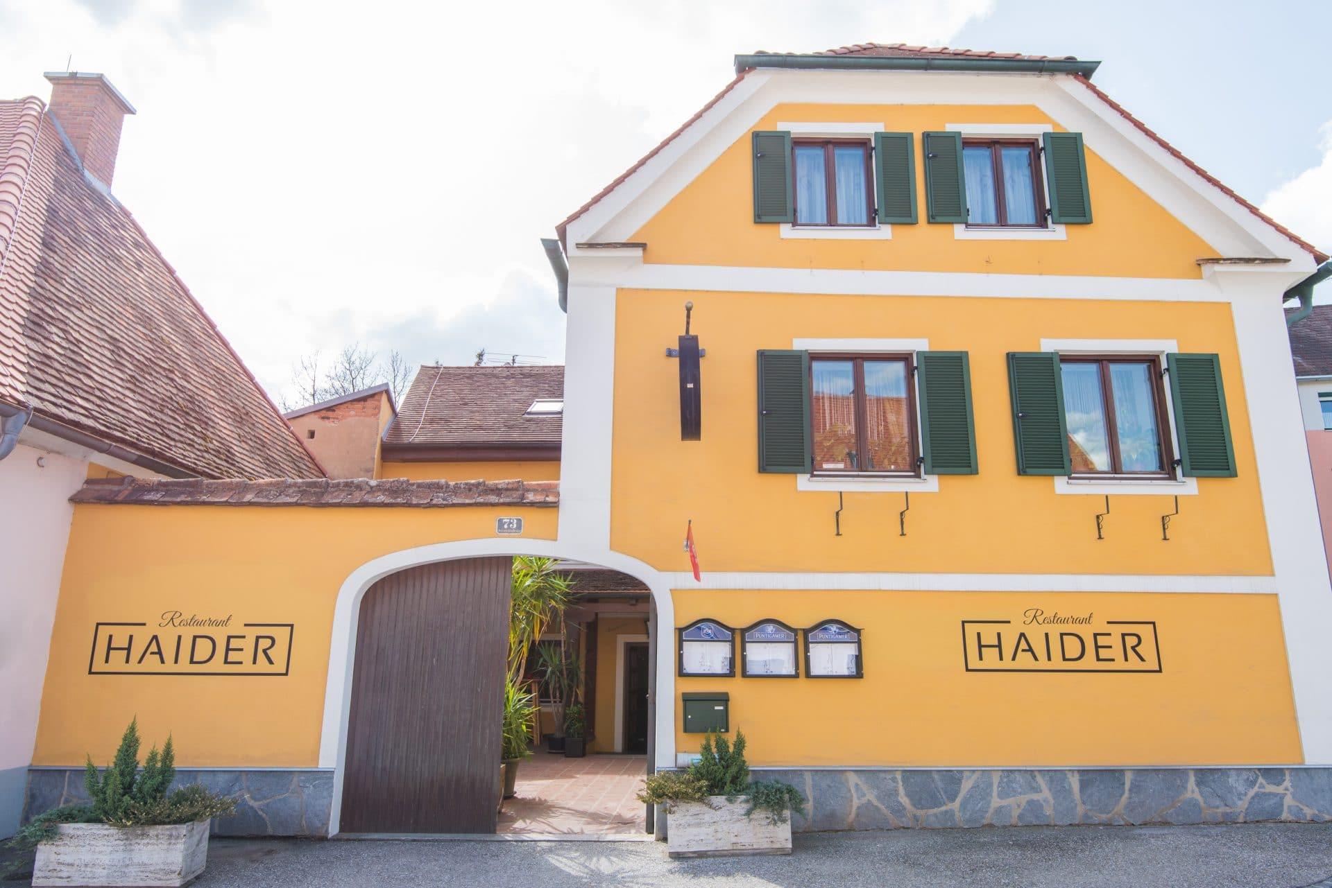 Restaurant Haider, © Helmut Schweighofer