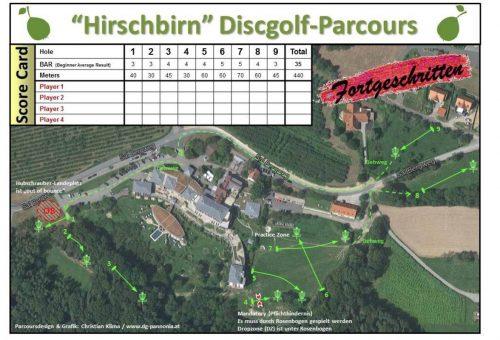Disc Golf Parcour © Hotel Retter