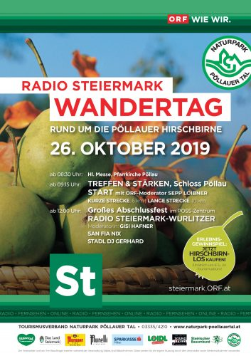 Plakat Wandertag 2019